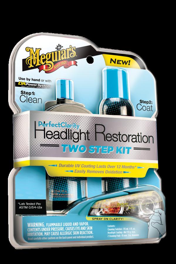 Perfect Clarity Headlight Restoration Two Step Kit - Headlight