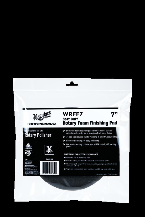 1 Pack MEGUIARS WRFF7 Soft Buff 7 Rotary Foam Finishing Pad