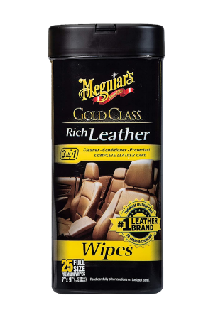 Gold Class Rich Leather Wipes 3in1