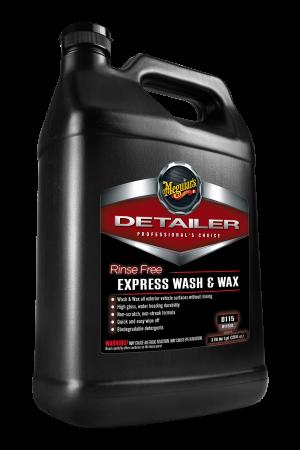Detailer Rinse Free Express Wash & Wax