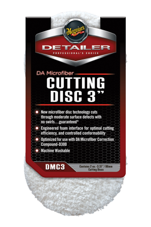 "Detailer DA Microfiber Cutting Disc 3"" (86mm)"