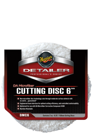 "Detailer DA Microfiber Cutting Disc 6"" (159mm)"