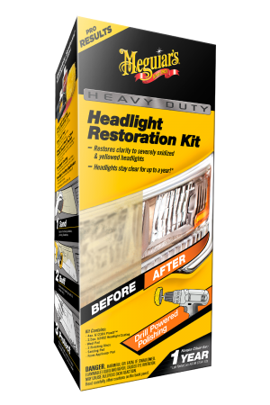 Heavy Duty Headlight Restoration Kit