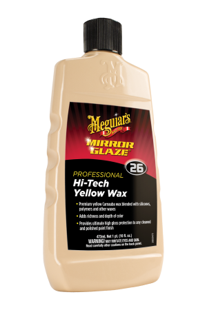 Mirror Glaze® Hi-Tech Yellow Wax