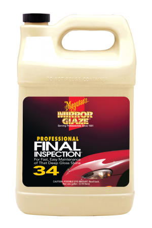 Mirror Glaze® Final Inspection