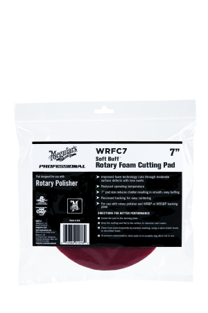 "Soft Buff™ Rotary Foam Cutting Pad 7"" (178mm)"