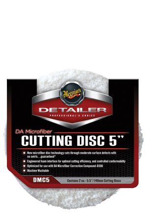 "Detailer DA Microfiber Cutting Disc 5"" (140mm)"