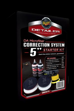 """Detailer Da Microfiber Correction System 5"""" Starter Kit"""