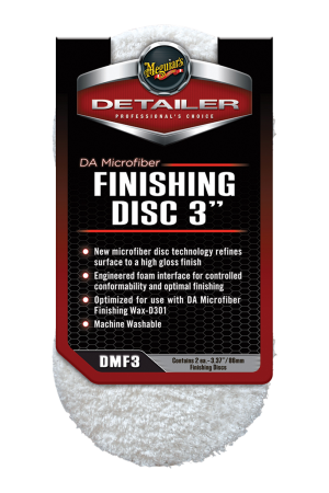 "DA Microfiber Finishing Disc 3"" (86mm)"