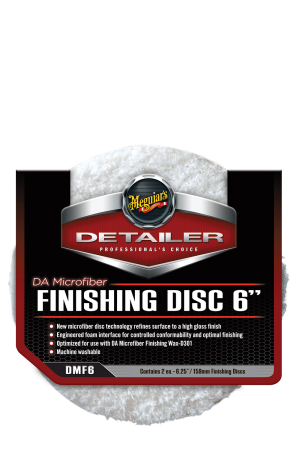 Detailer DA Microfiber Finishing Disc 6""