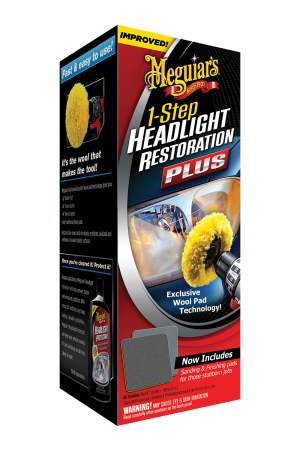 1-Step Headlight Restoration Plus