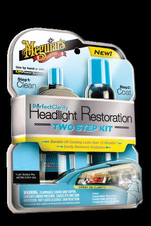 Perfect Clarity Headlight Restoration Two Step Kit