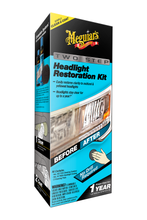 2-Step Headlight Restoration Kit