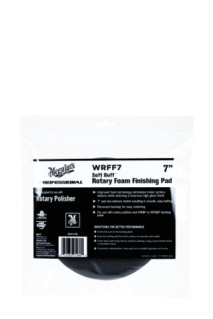 "Soft Buff™ Rotary Foam Finishing Pad 7"" (178mm)"