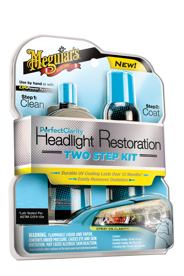 Perfect Clarity Headlight Restoration Two Step Kit