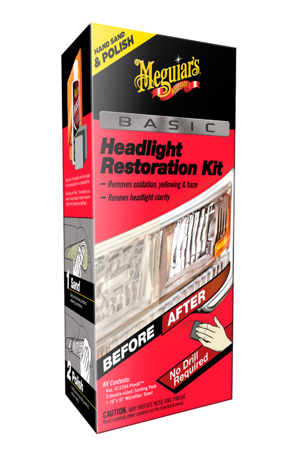 Meguiar's Basic Headlight Restoration Kit G2960