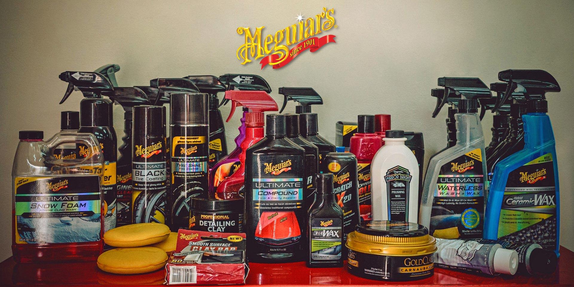 Προϊόντα Meguiar's